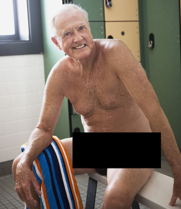 Old man with hairy butt recommend you